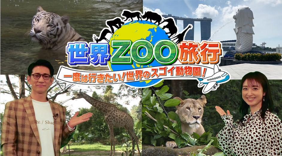 世界ZOO旅行の見逃し配信と無料で視聴する方法